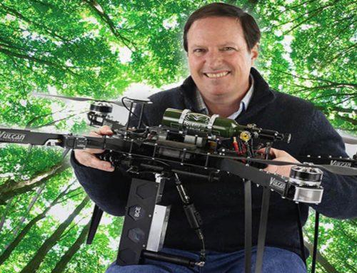 SOPUREINTHECITY – Laurent Fletcher et son drone planteur d'arbre